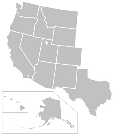 blank us map of western states file blankmap usa states west png