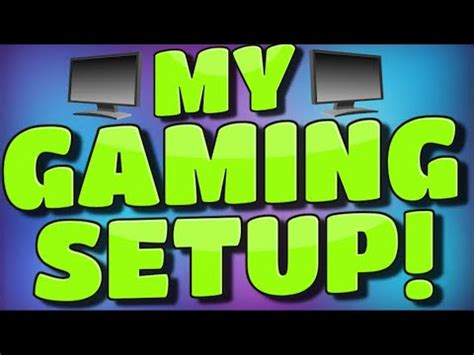 gaming setup my gaming setup how to build a quot cheap quot gaming setup 2015