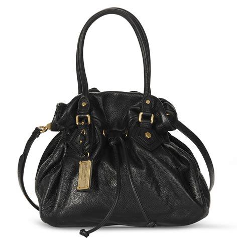 marc  marc jacobs classic  drawstring bag  black lyst