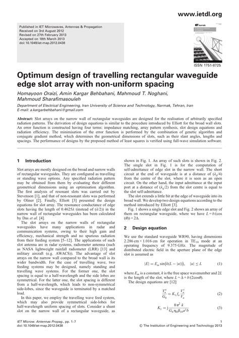 efficient pattern matching algorithm for memory architecture pdf optimum design of travelling rectangular waveguide edge