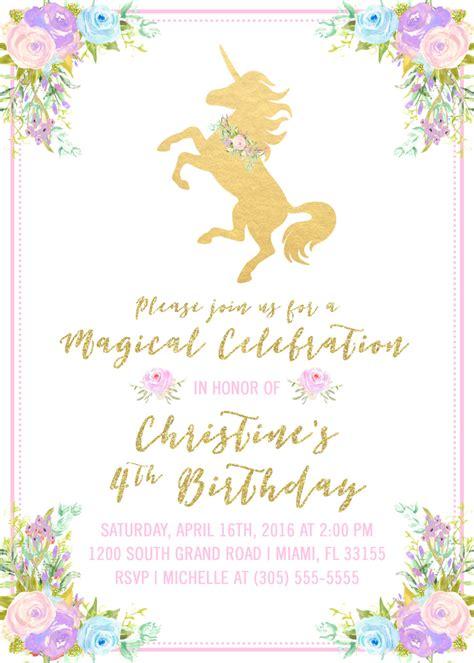 free printable unicorn invitation unicorn invitations printable printable invitations
