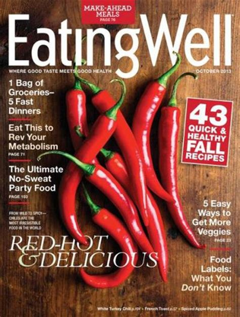 1 year subscription to eating well magazine - Eating Well Magazine Sweepstakes
