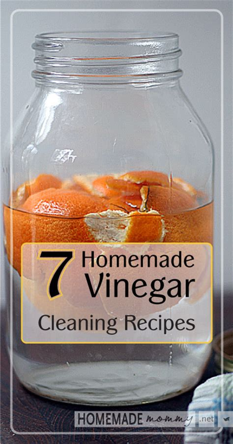7 Recipes For Cleaners 7 vinegar cleaning recipes