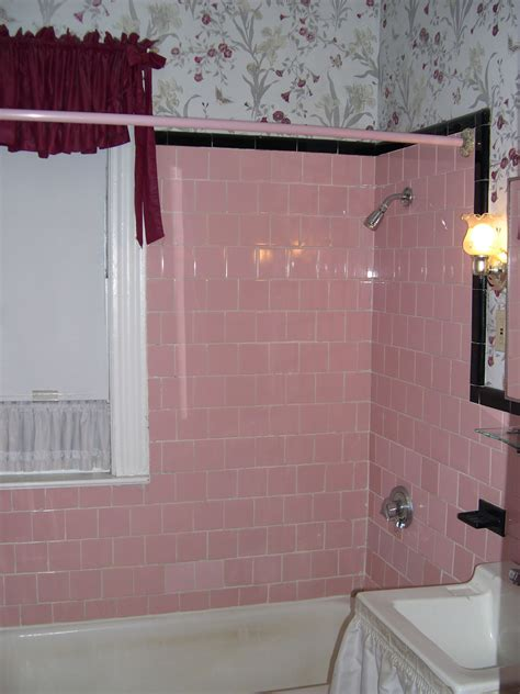 pink tile bathroom ideas pink tile bathroom decorating ideas