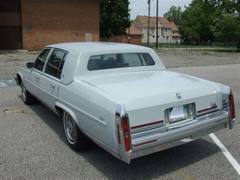 1989 Cadillac Fleetwood Brougham For Sale Purchase Used 1989 Cadillac Fleetwood Brougham Rocket 455