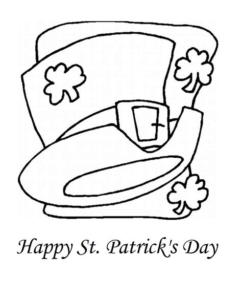 free printable st day coloring pages free printable st s day coloring pages for