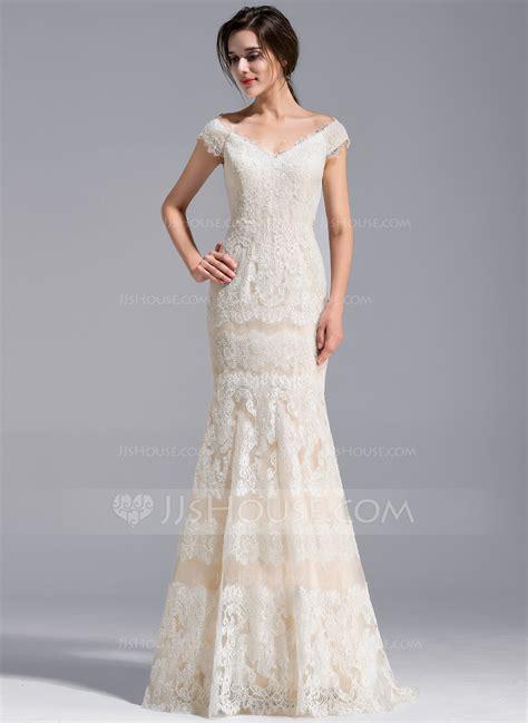 Shoulder Mermaid Dress trumpet mermaid the shoulder sweep lace wedding
