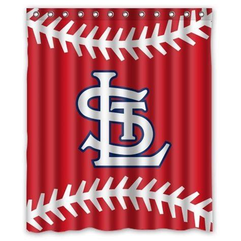 st louis cardinals shower curtain 1000 images about basement bathroom on pinterest shower