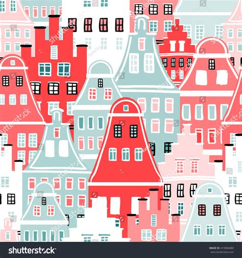 home decorators 12 days of deals seamless pattern different houses background window pattern different architectural style