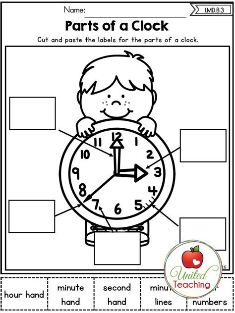 free printable clock games autumn 1st grade no prep math worksheets telling time