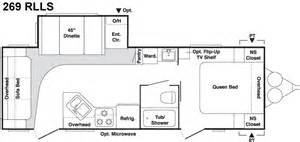 2006 keystone floor plans 2006 keystone springdale travel trailer rvweb com