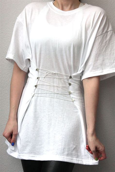 diy ideas t shirt makeovers pretty designs how to makeover your oversize t shirts pretty designs