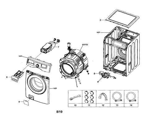 samsung front load washer parts diagram samsung washer wiring diagram get free image about