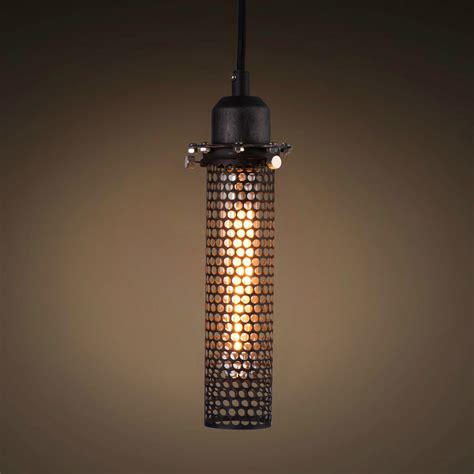 1 Light Metal Mesh Cage Pendant Light Westmenlights Mesh Lights