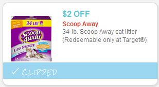 printable coupons for cat food and litter scoop away cat litter coupon target