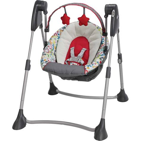 Swing Baby by Ingenuity Soothe N Delight Portable Swing Felicity Floral