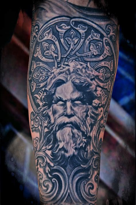 poseidon tattoo tattoos