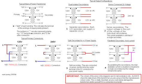 voltage transformer connection diagram connection