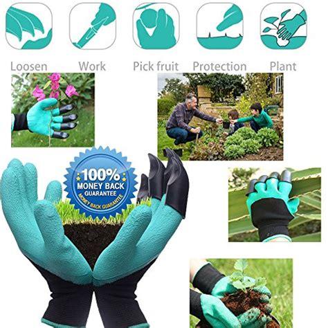 Sale Garden Genie Gloves Easy Way To Garden Sarung Tangan Berkebun garden genie gloves right claws easy to nursery digging planting and safe for