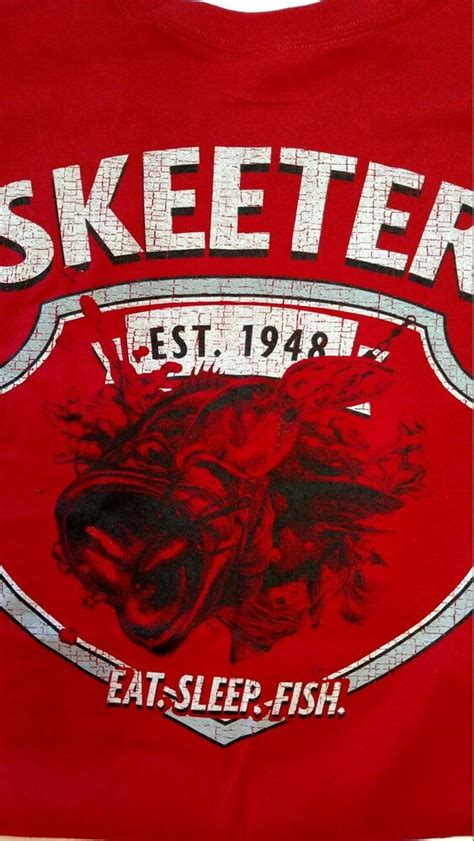 skeeter boats clothing new skeeter boats cherry red t shirts s s with skeeter