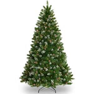 Dfw Christmas Lights National Tree Pre Lit 7 1 2 Crystal Spruce Artificial