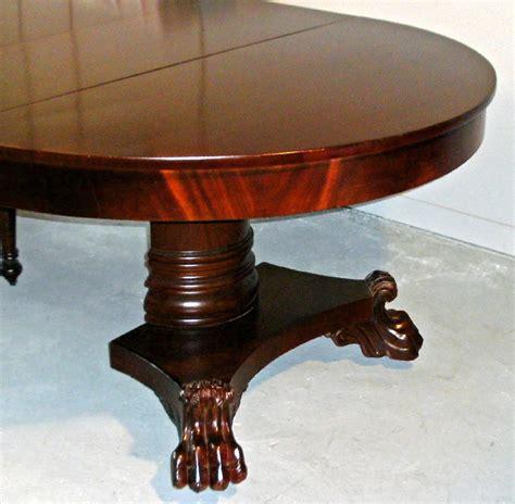 7893 american empire period mahogany dining table c1825