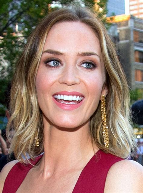Emily Blunt Hairstyles by Emily Blunt Hairstyles Hairstyles 2016