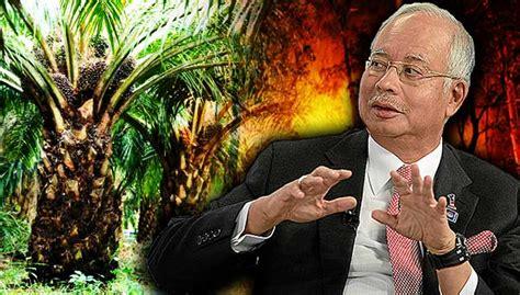 Minyak Kelapa Sawit Hari Ini malaysia tak bakar hutan tanam kelapa sawit najib