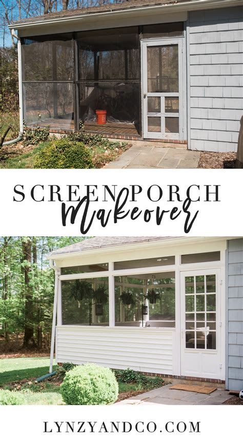 screened porch makeover screen porch ideas makeover lynzy co
