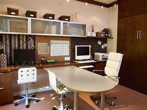 Home Office Design For Two Home Office Ideas