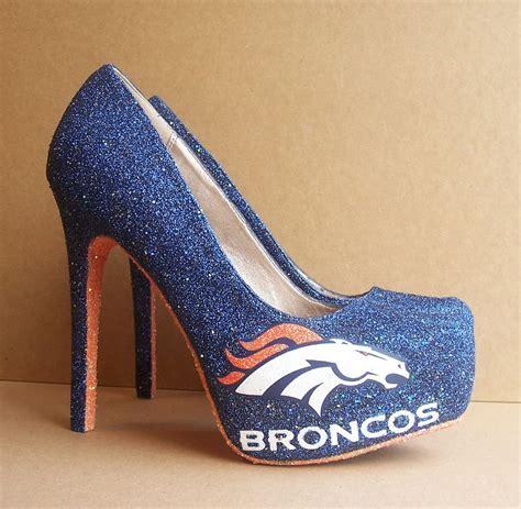 denver broncos shoes funky wedding shoes for sports loving brides broncos