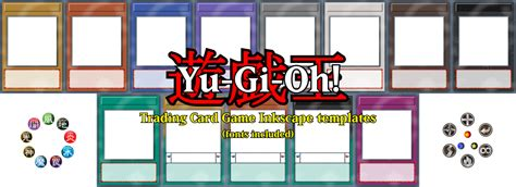 yugioh anime card template yu gi oh tcg card templates by decatilde on deviantart