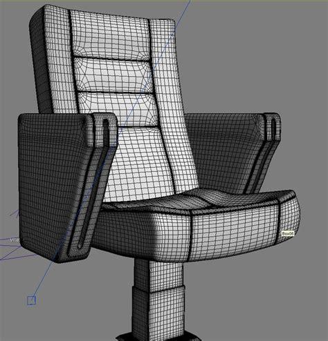 Auditorium Chair 3d Model Free by 3d Model Auditorium Chair