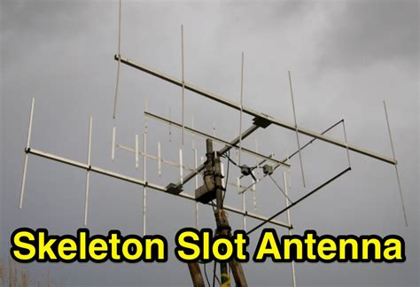 vhf skeleton slot antenna resource detail