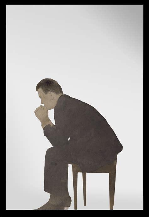 uomo seduto michelangelo pistoletto uomo seduto 1963 dipinto a