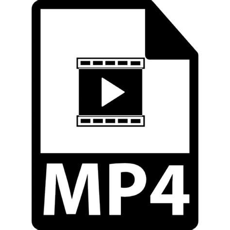 Audio Format Of Mp4 | mp4 symbole de format de fichier t 233 l 233 charger icons