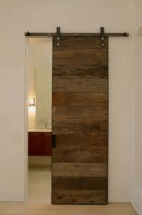 Sliding Wood Closet Doors Reclaimed Wood Sliding Doors