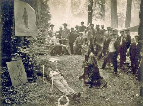 illuminati bohemian grove shocking rediscovered photos from bohemian grove the