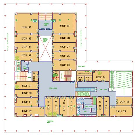 floor plan mall tdi mall chandigarh floor plans