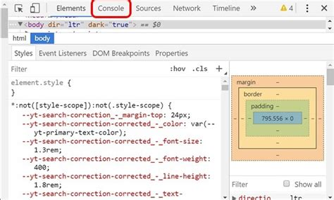 chrome developer console how to enable mode in chrome firefox or edge