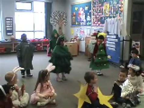 the littlest christmas tree performed by the sk class