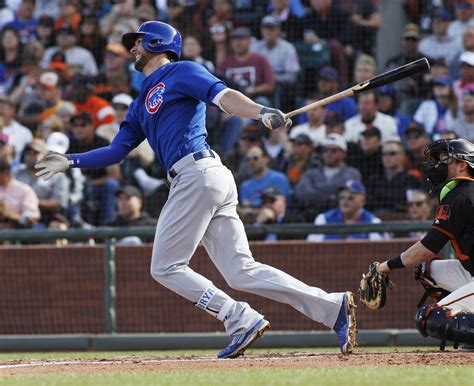 kris bryant swing his level best kris bryant flattens swing to become a
