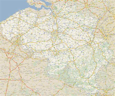 belgium maps road map of belgium size