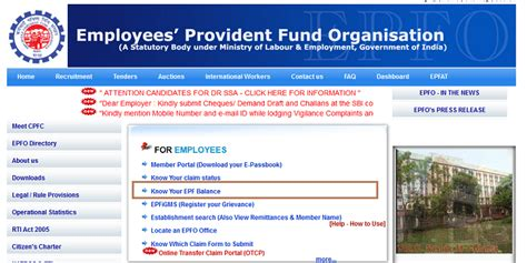 check my provident fund account how to check your epf balance employee provident fund