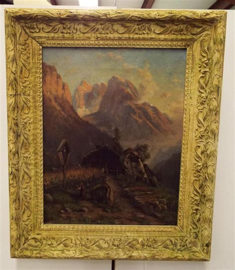 canvas knox john knox oil on canvas mountain landscape