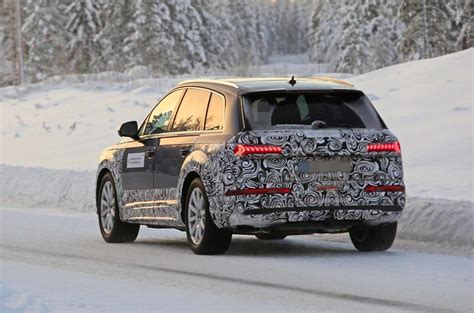 2019 Audi Q7 Facelift by Audi Q7 2019 Facelift To Bring New Tech And Greater