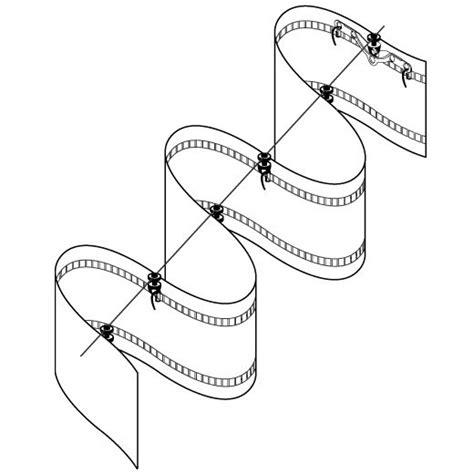 gardinenband zum kletten newave kordel mit drehgleiter haken 8 cm set gardinen