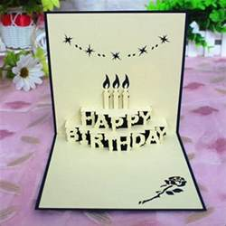 Handmade Creative Birthday Cards - 44 free birthday cards free premium templates