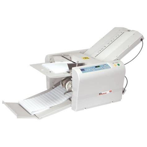 Paper Folding Machine Reviews - mbm 307a automatic tabletop paper folding machine