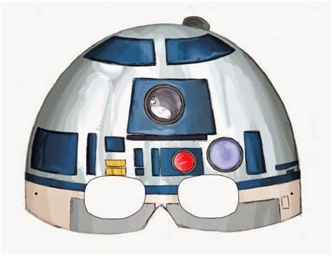 guerra de las galaxias manualidades de papel m 225 scara de star wars episodio i para imprimir gratis